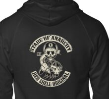 Stare of Anarchy Zipped Hoodie