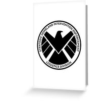 SHIELD of Nick Fury Logo Greeting Card