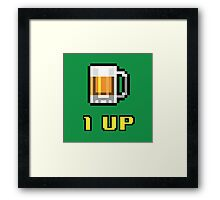 1UP Beer Framed Print