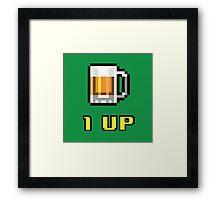 1UP Beer Framed Print