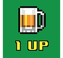 1UP Beer Photographic Print