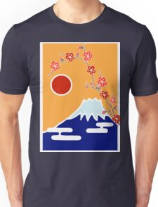 Mount Fuji in Spring Unisex T-Shirt