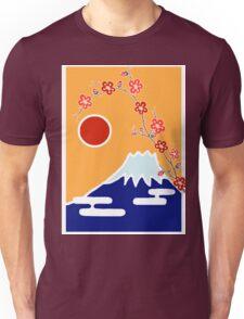 Mount Fuji in Spring Unisex T-Shirt