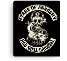 Stare of Anarchy Canvas Print