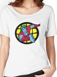 Captain Planet Women's Relaxed Fit T-Shirt