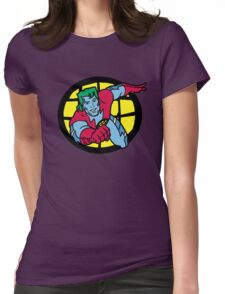 Captain Planet Womens Fitted T-Shirt