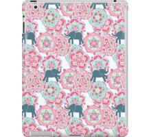 Tiny Elephants in Fields of Flowers iPad Case/Skin