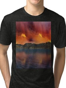 Fantasy Sunset 11 Tri-blend T-Shirt