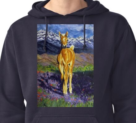 Candy Colt  Pullover Hoodie