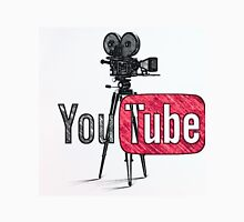 Youtube With Old Camera Drawing Unisex T-Shirt