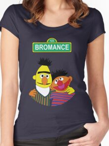 The Bromance of Ernie & Bert Women's Fitted Scoop T-Shirt
