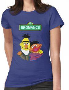 The Bromance of Ernie & Bert Womens Fitted T-Shirt
