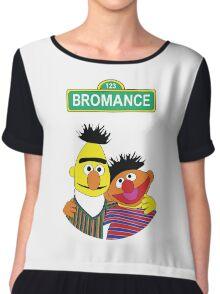 The Bromance of Ernie & Bert Chiffon Top