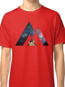 Abstract cat in space - version 1 Classic T-Shirt