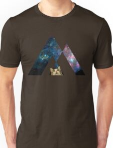 Abstract cat in space - version 1 Unisex T-Shirt