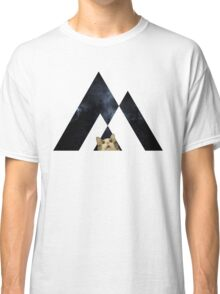 Abstract cat in space - version 2 Classic T-Shirt