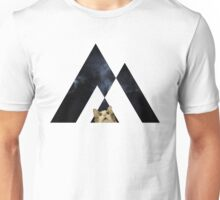 Abstract cat in space - version 2 Unisex T-Shirt