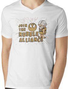 Join The Rubble Alliance Mens V-Neck T-Shirt