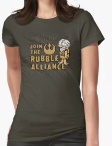 Join The Rubble Alliance Womens Fitted T-Shirt
