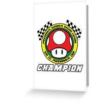 Mushroom Cup Champion Greeting Card