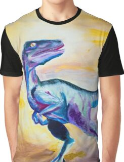Raptor in Color Graphic T-Shirt