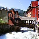 The bridge over the river by annalisa bianchetti