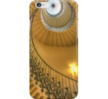 The Tulip Staircase, The Queen's House, Greenwich, London iPhone Case/Skin