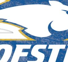 Hofstra University destroyed logo Sticker