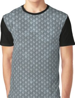 Silver Dragon Scales Graphic T-Shirt