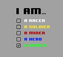 I am a Gamer by tshirtbaba