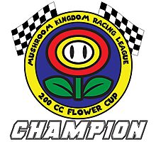 Flower Cup Champion Photographic Print