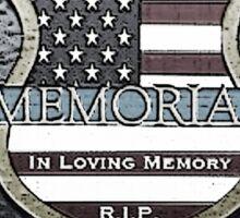 Dallas Police Officers Memorial Sticker