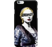 The White Queen iPhone Case/Skin