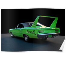 1970 Plymouth Road Runner Superbird 2 Poster