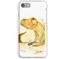 T-Rex Morning Coffee iPhone Case/Skin