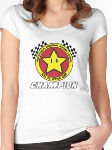 Star Cup Champion Women's Fitted Scoop T-Shirt
