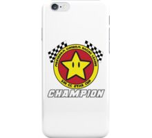 Star Cup Champion iPhone Case/Skin