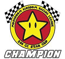 Star Cup Champion Photographic Print