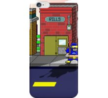 Wizzalamaru on the streets iPhone Case/Skin