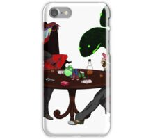 Playing some Go Fish iPhone Case/Skin