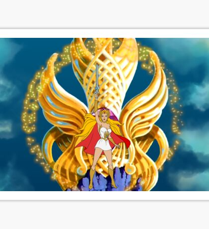 She-ra transform filmation style Sticker