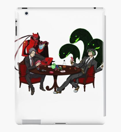 Playing some Go Fish iPad Case/Skin