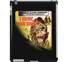 i drink your blood iPad Case/Skin
