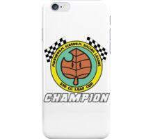 Leaf Cup Champion iPhone Case/Skin