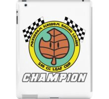 Leaf Cup Champion iPad Case/Skin