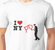 I Love NY (PD) Unisex T-Shirt