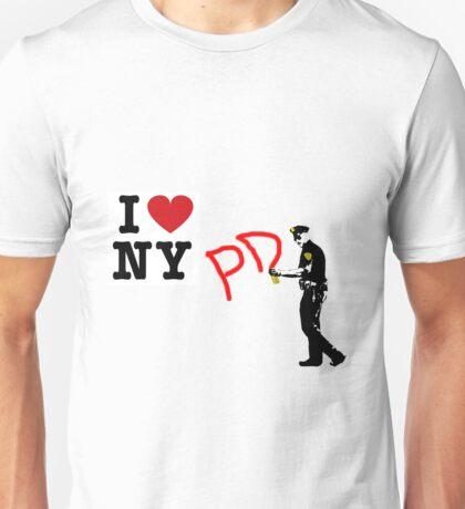 I Love NY (PD) Unisex T-Shirt