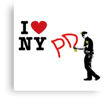 I Love NY (PD) Canvas Print