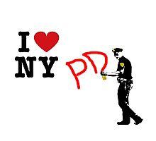 I Love NY (PD) Photographic Print