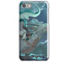 Haku and Chihiro iPhone Case/Skin